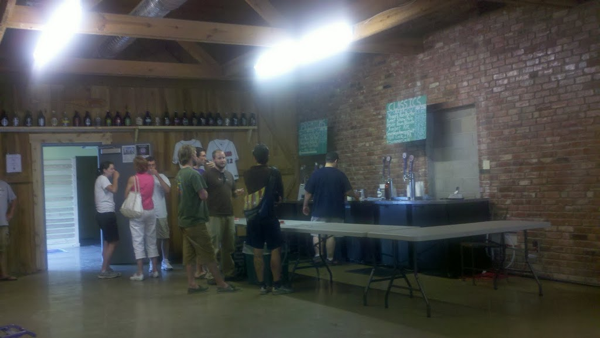 Taproom crowd