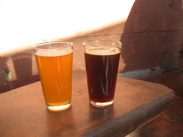 Pints of Beer at Wedge Brewing Co.