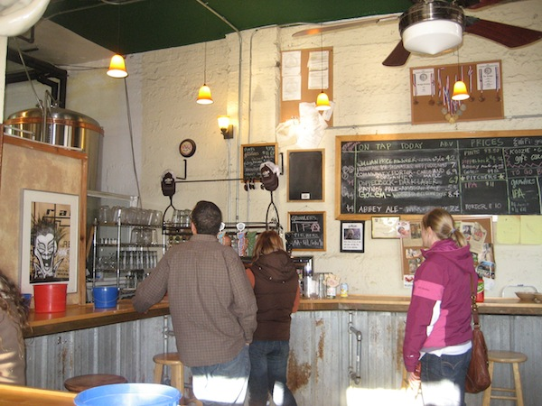 Wedge Brewing Co. taproom