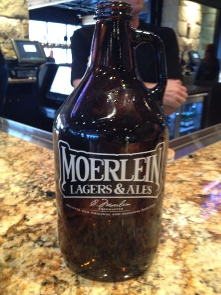 Moerlein Lager House Growler