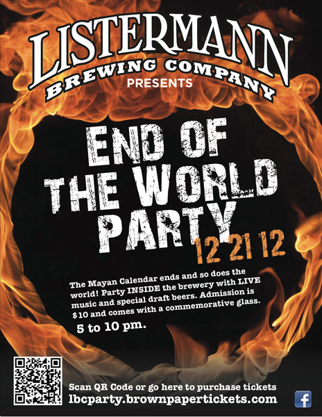 Listermann End Of The World Party