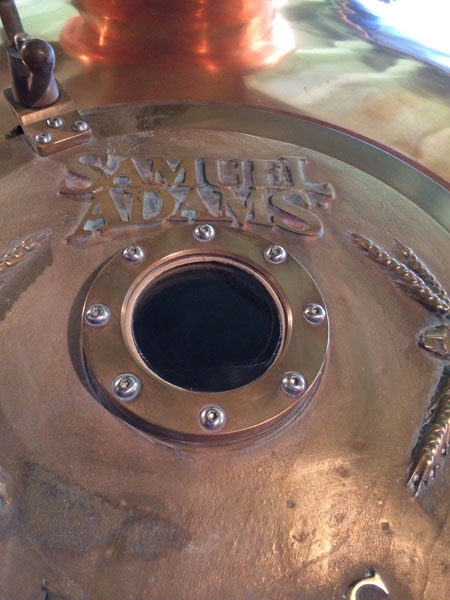 Sam Adams Copper Tanks