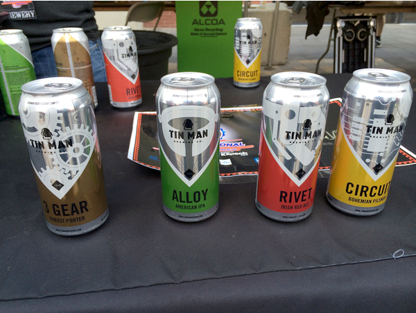 Tin Man beers