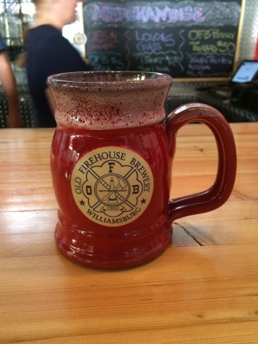 Old Firehouse Brewery stein