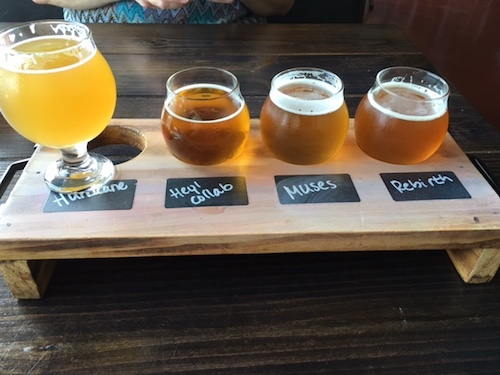NOLA Brewing Flight